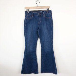 Old Navy Dark Wash Flare Leg Jeans